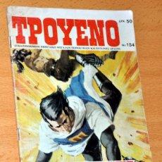 Cómics: EL CAPITÁN TRUENO EN GRIEGO - TPOYENO 154 - GRECIA 1987 - VÍCTOR MORA Y AMBRÓS. Lote 83050820