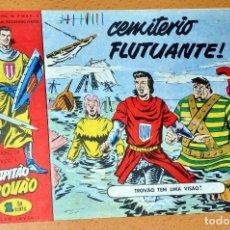Cómics: EL CAPITÁN TRUENO EN PORTUGUÉS - CUADERNILLO Nº 50 - EDITADO EN PORTUGAL - CAPITAO TROVAO - AÑO 1959. Lote 84493668