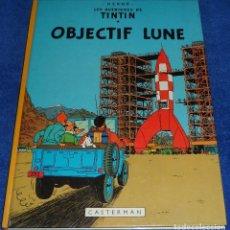 Cómics: OBJECTIF LUNE - TINTIN - CASTERMAN (1981). Lote 85269232