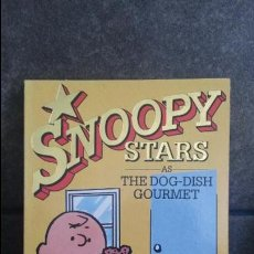 Cómics: SNOOPY STARS AS THE DOG-DISH GOURMET 12. CHARLES M. SCHULZ. 1989. INGLES. RAVETTE BOOKS.. Lote 86931296