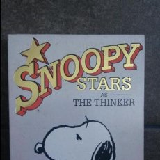 Cómics: SNOOPY STARS AS THE THINKER 16. CHARLES M. SCHULZ. 1989. INGLES. RAVETTE BOOKS.. Lote 86931420