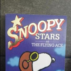Cómics: SNOOPY STARS AS THE FLYING ACE 1. CHARLES M. SCHULZ. INGLES 1988. RAVETTE BOOKS.. Lote 86931572