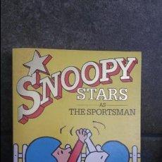 Cómics: SNOOPY STARS AS THE SPOTSMAN 7. CHARLES M. SCHULZ. 1988. INGLES. RAVETTE BOOKS.. Lote 86937776