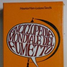 Cómics: ENCICLOPEDIA MUNDIALE DEL FUMETTO - MAURICE HORN-LUCIANO SECCHI - EDITORIALE CORNO. Lote 88455204