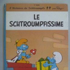 Cómics: HISTOIRES DE SCHTROUMPFS ( LOS PITUFOS ) : LE SCHTROUMPFISSIME , DE PEYO . 1965 . EN FRANCES. Lote 88570112