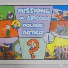 Cómics: SERIE CINO E FRANCO. MISSIONE AL CIRCOLO POLARE ARTICO. TIRAS DIARIAS 1/9/1930 AL 29/11/1930. Lote 90392484