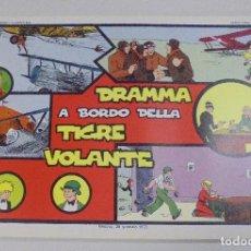 Cómics: SERIE CINO E FRANCO. DRAMMA A BORDO DELLA TIGRE VOLANTE. TIRAS DIARIAS 14/10/1929 AL 21/12/1929. Lote 90392624