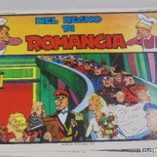 Cómics: SERIE CINO E FRANCO. NEL REGNO DI ROMANCIA. TIRAS DIARIAS 22/1/1932 AL 26/4/1932. Lote 90392728