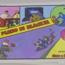 Cómics: SERIE CINO E FRANCO. IL PIANO DI BLACKIE. TIRAS DIARIAS 13/2/1929 AL 12/4/1929. Lote 90393392