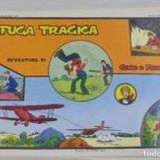 Cómics: SERIE CINO E FRANCO. FUGA TRAGICA. TIRAS DIARIAS 1/7/1930 AL 30/8/1930. Lote 90393516