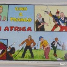 Cómics: SERIE CINO E FRANCO. IN AFRICA. TIRAS DIARIAS 27/4/1932 AL 22/6/1932. Lote 90393684