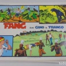Cómics: SERIE CINO E FRANCO. FANG. TIRAS DIARIAS 19/10/1932 AL 1/2/1933. Lote 90393900