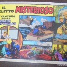 Cómics: TEBEO. ITALIANO. SERIE RADIO PATTIGLIA. 20ª AVENTURA. 17/4/1939 AL 29/7/1939. Lote 90703180