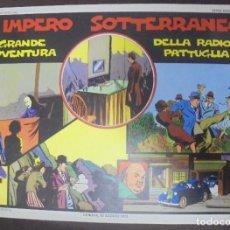 Cómics: TEBEO. ITALIANO. SERIE RADIO PATTIGLIA. 23ª AVENTURA. 15/1/1940 AL 22/6/1940. Lote 90703215