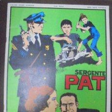 Cómics: TEBEO. ITALIANO. SERIE RADIO PATTIGLIA. SARGENTE PAT. CLUB ANNI TRENTA. Lote 90703300