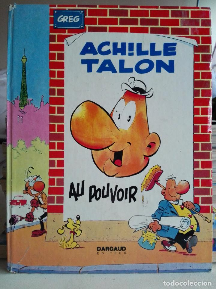 ACHILLE TALON - AU POUVOIR- GREG. DARGAUD EDITEUR 1972 (Tebeos y Comics - Comics Lengua Extranjera - Comics Europeos)