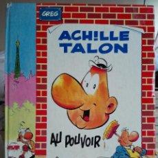 Cómics: ACHILLE TALON - AU POUVOIR- GREG. DARGAUD EDITEUR 1972. Lote 91983795
