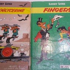 Cómics: LOTE 2 COMIC LUCKY LUKE EN FRANCÉS DE DARGAUD AÑOS 80. Lote 92238335