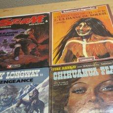 Cómics: LOTE 4 COMICS DE AVENTURAS JUVENIL EN FRANCÉS AÑOS 70-80. Lote 92238407