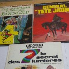 Cómics: LOTE 3 COMICS EN FRANCÉS TAPA DURA AÑOS 60-80. Lote 92238454