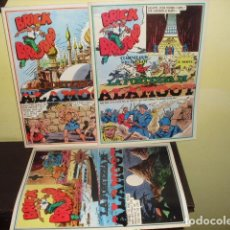 Cómics: BRICK BRADFORD - LA FORTEZZA DI ALAMOT - 3 VOL. NUMS. 5- 6 - Y 7 - AÑO 1975. Lote 92724915