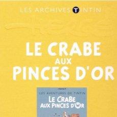 Cómics: TINTIN ARCHIVES ATLAS LE CRABE AUX PINCES D'OR (EN FRANCÉS) EL CANGREJO DE LAS PINZAS DE ORO. Lote 92875305