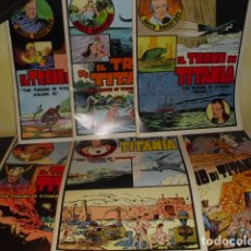 Cómics: BRICK BRADFORD . - IL TRONO DI TITANIA - 6 VOLUMENES -. Lote 93321535