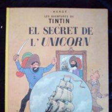 Cómics: EL SECRET DE L'UNICORN TINTIN. Lote 94161189