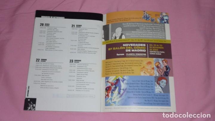 Cómics: EXPOCOMIC 2003 MADRID. REVISTA OFICIAL COMPLETA. EXCELENTE ESTADO - Foto 6 - 94414326