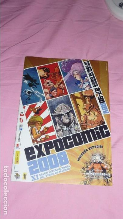 Cómics: EXPOCOMIC MADRID 2008. REVISTA OFICIAL COMPLETA. EXCELENTE ESTADO - Foto 2 - 94414442
