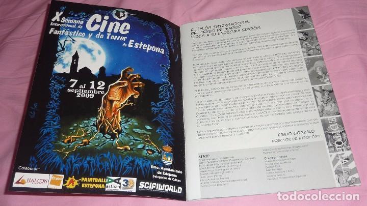 EXPOCOMIC MADRID 2008. REVISTA OFICIAL COMPLETA. EXCELENTE ESTADO (Tebeos y Comics - Comics Lengua Extranjera - Comics Europeos)