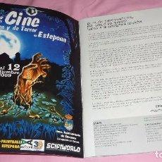 Cómics: EXPOCOMIC MADRID 2008. REVISTA OFICIAL COMPLETA. EXCELENTE ESTADO. Lote 94414442