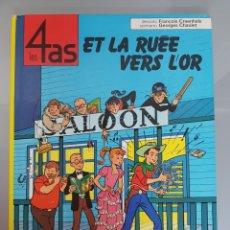 Cómics: LES 4 AS ET LA RUEE VERS L'OR 1973 CASTERMAN (LOS 4 ASES). Lote 94703324