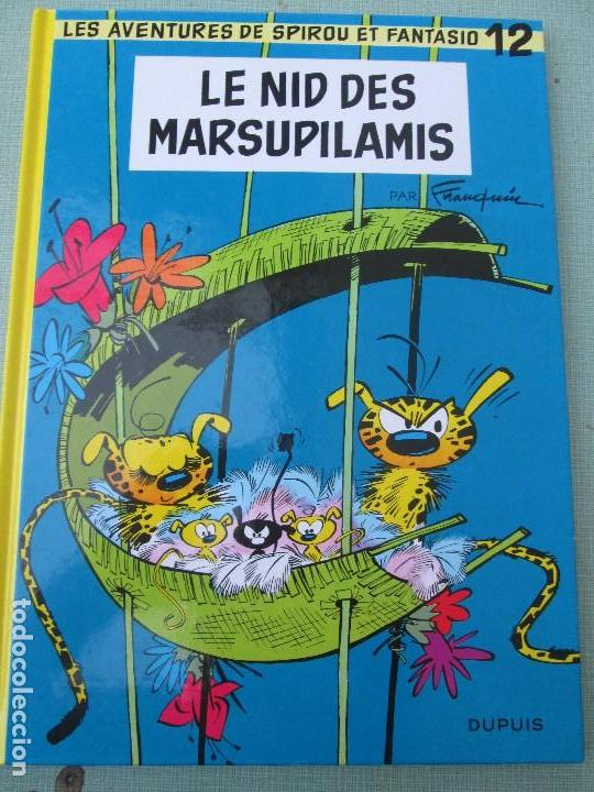 SPIROU ET FANTASIO--LE NID DES MARSUPILAMIS (Tebeos y Comics - Comics Lengua Extranjera - Comics Europeos)