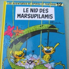 Cómics: SPIROU ET FANTASIO--LE NID DES MARSUPILAMIS. Lote 94757547