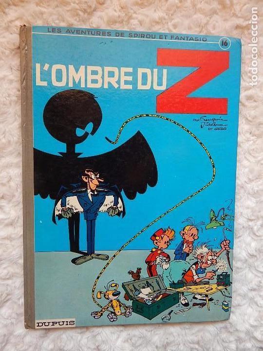 LES AVENTURES DE SPIROU ET FANTASIO - L´OMBRE DU Z - N. 16 (Tebeos y Comics - Comics Lengua Extranjera - Comics Europeos)