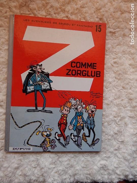 LES AVENTURES DE SPIROU ET FANTASIO - Z COMME ZORGLUB - N. 15 (Tebeos y Comics - Comics Lengua Extranjera - Comics Europeos)