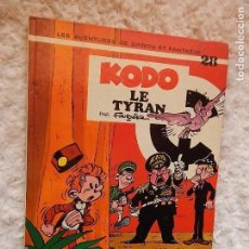 Cómics: LES AVENTURES DE SPIROU ET FANTASIO - KODO LE TYRAN - N.. 28. Lote 95549695