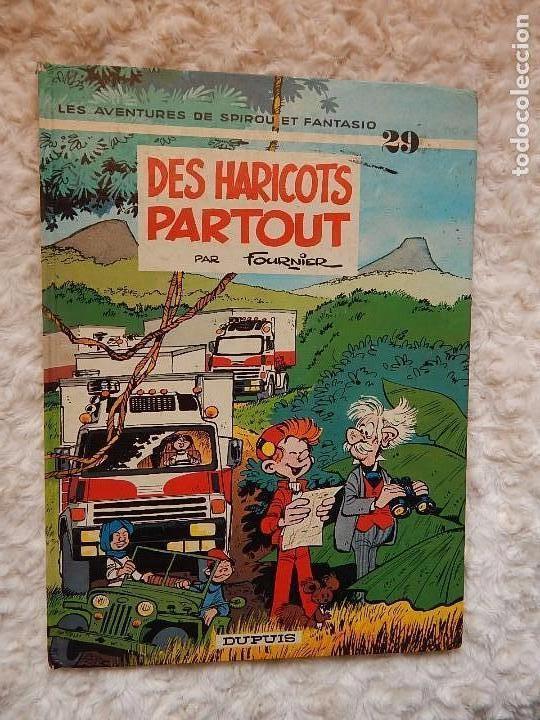 LES AVENTURES DE SPIROU ET FANTASIO - DES HARICOTS PARTOUT - N.. 29 (Tebeos y Comics - Comics Lengua Extranjera - Comics Europeos)