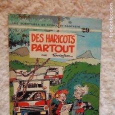 Cómics: LES AVENTURES DE SPIROU ET FANTASIO - DES HARICOTS PARTOUT - N.. 29. Lote 95549831