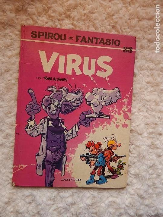 LES AVENTURES DE SPIROU ET FANTASIO - VIRUS - N.. 33 (Tebeos y Comics - Comics Lengua Extranjera - Comics Europeos)