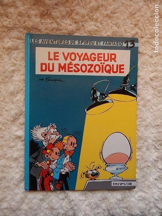 LES AVENTURES DE SPIROU ET FANTASIO - LE VOYAGEUR DU MESOZOIQUE- N.. 13 (Tebeos y Comics - Comics Lengua Extranjera - Comics Europeos)