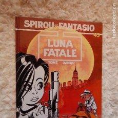 Cómics: LES AVENTURES DE SPIROU ET FANTASIO - LUNA FATALE- N.. 45. Lote 95609399