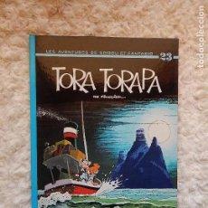 Cómics: LES AVENTURES DE SPIROU ET FANTASIO - TORA TORAPA- N.. 23. Lote 95609795