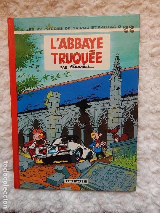LES AVENTURES DE SPIROU ET FANTASIO - L´ABBAYE TRUQUEE- N.. 22 (Tebeos y Comics - Comics Lengua Extranjera - Comics Europeos)