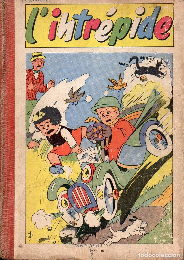 L' INTREPIDE NÚMS. 394 A 401 RETAPADOS - COMIC FRANCÉS (Tebeos y Comics - Comics Lengua Extranjera - Comics Europeos)