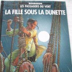 Cómics: BOURGEN-LES PASSAGERS DU VENT. Lote 96333319