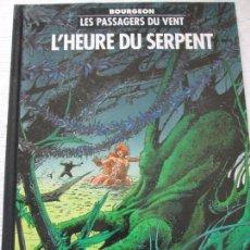 Cómics: BOURGEON-LES PASSAGERS DU VENT. Lote 96333663