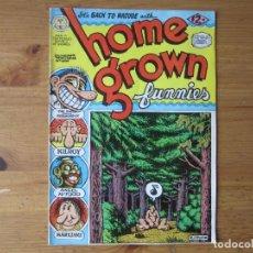 Cómics: ROBERT CRUMB - HOME GROWN FUNNIES - EDICION IMPRESA EN HOLANDA 1971. Lote 96598351