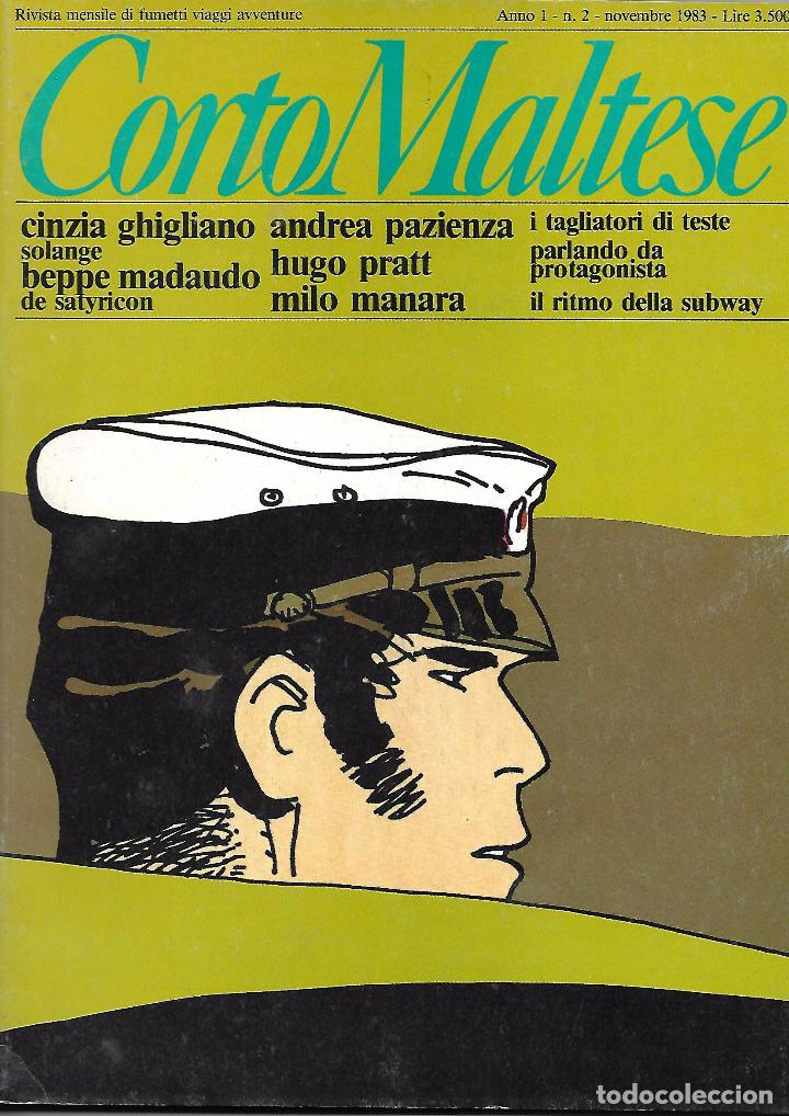 CORTO MALTESE, Nº 2, DICIEMBRE 1983, AÑO 1 (EN ITALIANO) (Tebeos y Comics - Comics Lengua Extranjera - Comics Europeos)